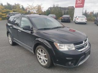 Used 2016 Dodge Journey R/T CLEAN CARPROOF! 7-SEATER, AWD, LEATHER for sale in Huntsville, ON