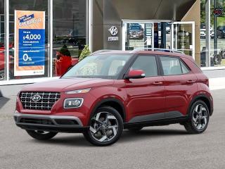 New 2020 Hyundai Venue Ultimate w/Black Interior (IVT) for sale in Huntsville, ON