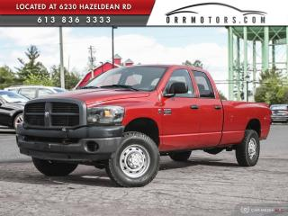 Used 2009 Dodge Ram 3500 ST/SXT DIESEL | 4X4 | POWER LIFTGATE | 8' BOX for sale in Stittsville, ON