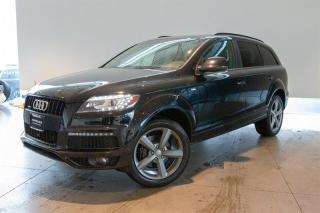 Used 2014 Audi Q7 3.0T 8sp Tiptronic Technik for sale in Langley City, BC