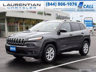 Used 2015 Jeep Cherokee North!!  4X4!!  POWER TAILGATE!!  CRUISE CONTROL!! for sale in Sudbury, ON