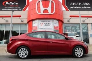 Used 2014 Hyundai Elantra GL-CERTIFIED for sale in Sudbury, ON