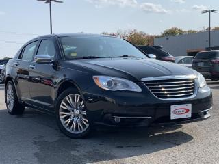 Used 2013 Chrysler 200 Limited LEATHER, HEATED SEATS for sale in Midland, ON