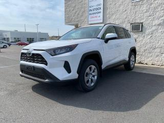New 2021 Toyota RAV4 FWD LE PACKAGE+HEATED FRONT SEATS!! for sale in Cobourg, ON