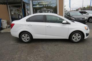 Used 2015 Chevrolet Sonic Berline 4 portes LT à b. auto. for sale in Prevost, QC