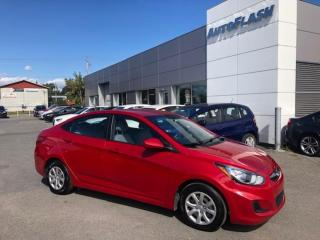Used 2014 Hyundai Accent GL *AUTO *A/C *GR-ELECTRIQUE *CRUISE *BLUETOOTH for sale in St-Hubert, QC