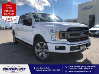 Used 2018 Ford F-150 XLT Sport Navi HTD seats Remote start Reverse cam  for sale in Leamington, ON