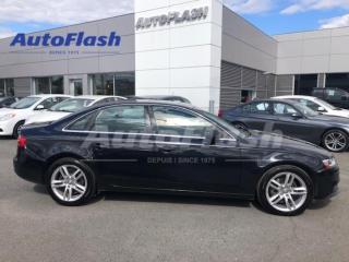 Used 2013 Audi A4 2.0T Premium-Plus Quattro *Push-Start *GPS for sale in St-Hubert, QC