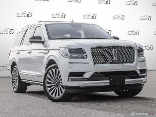 Used 2018 Lincoln Navigator Reserve MASSAGE SEATING | REAR PLAY ENTERTAINMENT | TECHNOLOGY PAKAGE | HEAVY DUTY TRAILER TOW for sale in Oakville, ON