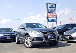 Used 2015 Audi Q5 No Accident| Pano Roof|AWD|Progressive for sale in Brampton, ON