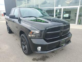 Used 2018 RAM 1500 ST EXPRESS, 1 OWNER, BLACKED OUT, B/U Cam!!! for sale in Ingersoll, ON