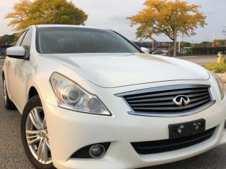 Used 2012 Infiniti G37 SEDAN for sale in Waterloo, ON
