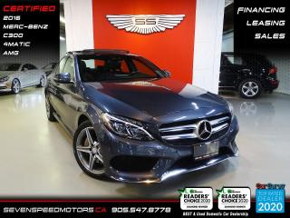 Used 2016 Mercedes-Benz C-Class CLEAN CARFAX | AMG | CERTIFIED | FINANCE | 9055478778 for sale in Oakville, ON