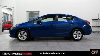 Used 2015 Honda Civic LX + BLUETOOTH + DEMARREUR + CAMERA! for sale in Trois-Rivières, QC