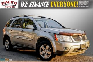 Used 2007 Pontiac Torrent SUNROOF / KEYLESS ENTRY / HEATED & POWER SEATS / for sale in Hamilton, ON