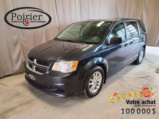 Used 2014 Dodge Grand Caravan SXT Familiale par excellence for sale in Rouyn-Noranda, QC