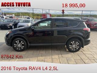 Used 2016 Toyota RAV4 AWD LE for sale in Rouyn-Noranda, QC