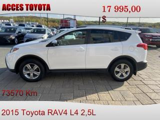 Used 2015 Toyota RAV4 AWD XLE for sale in Rouyn-Noranda, QC