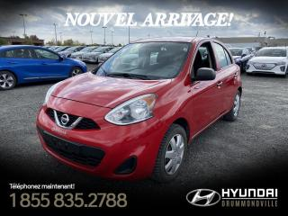 Used 2015 Nissan Micra S + GARANTIE + FIABLE + PAS CHER + WOW for sale in Drummondville, QC