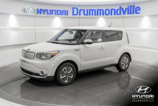 Used 2017 Kia Soul EV LUXURY + GARANTIE + NAVI + CUIR + WOW !! for sale in Drummondville, QC