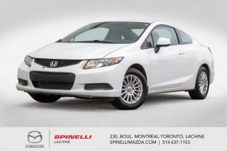 Used 2013 Honda Civic LX Automatique Bluetooth Sieges Chauffants Honda Civic Coupe LX 2013 for sale in Lachine, QC