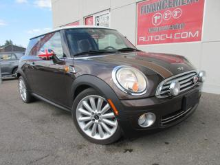 Used 2010 MINI Cooper Hardtop Mayfair Edition AUTO CUIR TOIT PANO MAGS for sale in St-Jérôme, QC