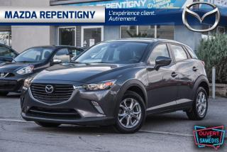 Used 2018 Mazda CX-3 GS FWD SIEGES/VOLANT CHAUF. 64.92$/SEM for sale in Repentigny, QC