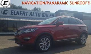 Used 2017 Lincoln MKC Select/NAVIGATION/PANARAMIC SUNROOF!! for sale in Barrie, ON