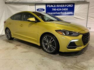 Used 2018 Hyundai Elantra Sport for sale in Peace River, AB