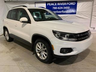 Used 2017 Volkswagen Tiguan Wolfsburg Edition for sale in Peace River, AB