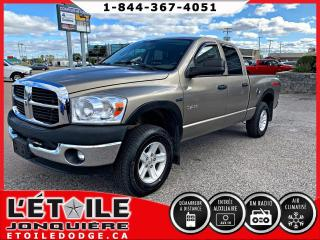 Used 2008 Dodge Ram 1500 SLT QUADCAB V8 4X4 for sale in Jonquière, QC