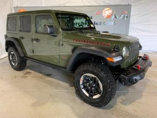 New 2021 Jeep Wrangler RUBICON for sale in Peace River, AB