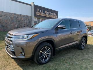 Used 2017 Toyota Highlander Hybrid XLE AWD NAVI REAR CAM BMS LDA 8 PASSENGER for sale in North York, ON