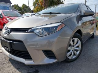 Used 2014 Toyota Corolla LE for sale in Ottawa, ON