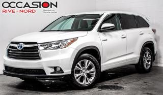 Used 2015 Toyota Highlander HYBRID LE AWD MAGS+CAM.RECUL+SIEGES.CHAUFFANTS for sale in Boisbriand, QC