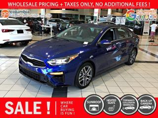 Used 2019 Kia Forte EX Premium - No Accident / Local for sale in Richmond, BC