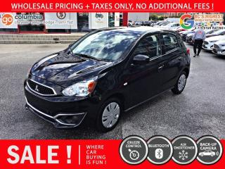 Used 2019 Mitsubishi Mirage ES Hatchback - No Accident / Local for sale in Richmond, BC