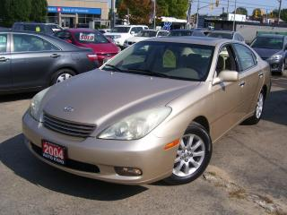 Used 2004 Lexus ES 330 AUTO,A/C,LEATHER,SUNROOF,CERTIFIED,FOG LIGHTS for sale in Kitchener, ON