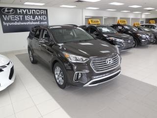 Used 2017 Hyundai Santa Fe XL XL LUXURY AWD AUTO TOIT CUIR NAV MAGS CA for sale in Dorval, QC