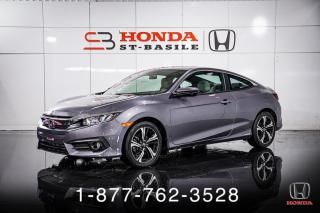 Used 2018 Honda Civic EX-T + COUPE + TOIT + MAGS + WOW! for sale in St-Basile-le-Grand, QC