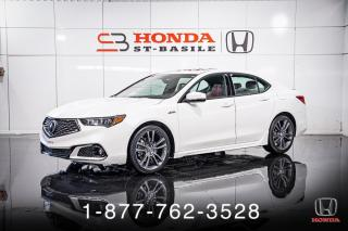 Used 2019 Acura TLX A-SPEC + TECH + NAVI + CUIR + WOW! for sale in St-Basile-le-Grand, QC