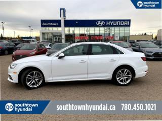 Used 2018 Audi A4 Sedan TECHNIK/NAVI/LEATHER/ROOF/AWD for sale in Edmonton, AB
