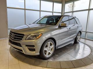 Used 2015 Mercedes-Benz ML-Class ML 350 BlueTEC for sale in Edmonton, AB