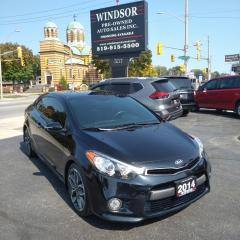 Used 2014 Kia Forte Koup SX Luxury for sale in Windsor, ON