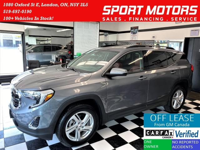 2018 GMC Terrain SLE AWD TECH+Red Leather+BSM+ROOF+ACCIDENT FREE