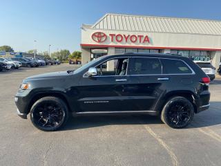 Used 2014 Jeep Grand Cherokee Summit for sale in Cambridge, ON