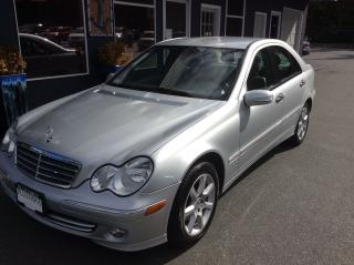 Used 2006 Mercedes-Benz C-Class 2.5L for sale in Parksville, BC