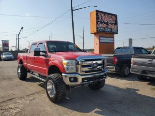 Used 2011 Ford F-250 LARIAT**4X4*WHEELS*LIFTED**EXHAUST*NO ACCIDENTS for sale in London, ON
