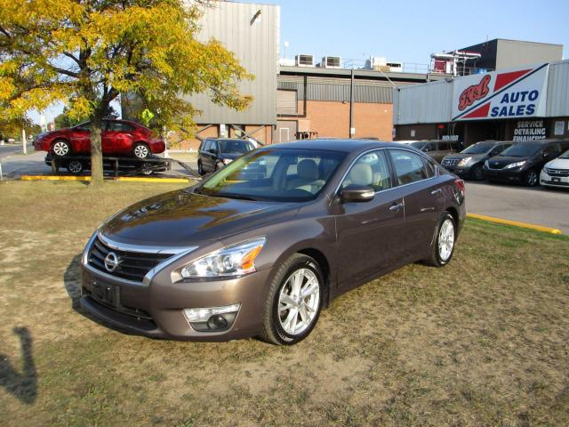 2013 Nissan Altima 2.5 SL ~ LEATHER ~ NAV. ~ CAMERA ~ LOW KM