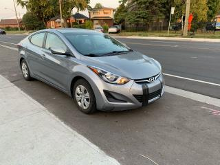 Used 2016 Hyundai Elantra L+ for sale in Scarborough, ON
